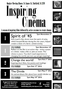 Inspiring Cinema flyer